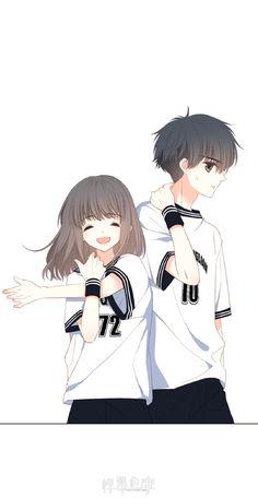 Anime Cupples, Kawaii Anime, Anime Guys, Couple Manga, Anime Love Couple, Anime Couples Drawings, Anime Couples Manga, Cute Cartoon Wallpapers, Animes Wallpapers