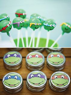 Bodacious Teenage Mutant Ninja Turtles Birthday Party