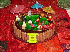http://cakedecoratingcoursesonline.com/cake-decorating/ LEGO Birthday Cake Swimming Pool: Looking for Best #Birthday #Cake? - Learn Amazing #Cakes #Design Creating on http://CakeDecoratingCoursesOnline.com and Make Your Dream Birthday Cake Yourself!