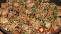 Tajomstvo najchutnejšej pečienky, ktorá sa rozplýva na jazyku! Úžasne jemná, žiadna horkosť a je tak delikátna, že si pridajú aj tí, ktorí ju nemajú radi! Pork, Pizza, Beef, Chicken, Youtube, Basket, Meat, Cooking, Kale Stir Fry