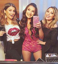 Nah Cardoso,Taciele Alcolea e Bianca Andrade em Boca Rosa-A peça!❤