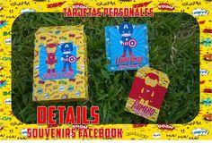 Tarjetas personales y sobres monetarios para niños (diseñamos para ti) DETAILS SOUVENIRS FACEBOOK