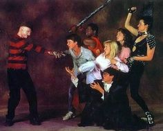 A Nightmare on Elm Street Part 3 (PROMO CARD)