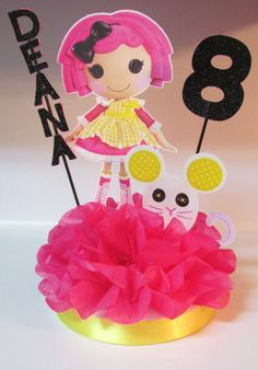 Lalaloopsy Birthday Party Centerpiece by KhloesKustomKreation, $15.00