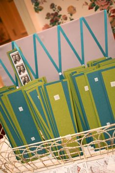 a great idea for photo booth strips