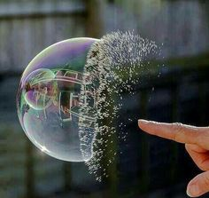 Bubble photography