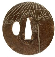 Tsuba | Hazama | V&A Search the Collections