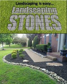 DIY Landscaping: Why use landscaping stones? @brotherton08