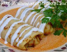 Àtmenetileg nem tudom feltenni a képeimet a telefonomról ide a blogba. A probléma éppen orvoslás alatt áll. Ezért másnak a fotóját mutatom... Clean Eating, Tacos, Mexican, Mille Crepe, Crepes, Ethnic Recipes, Pancakes, Food, Eat Healthy