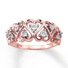 Diamond Heart Ring - my next purchase for myself :)
