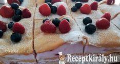 Dimbes-dombos áfonyás süti Pancakes, Breakfast, Food, Morning Coffee, Eten, Meals, Pancake, Morning Breakfast, Crepes