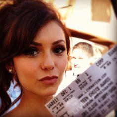 Nina Dobrev checking in #TeenChoiceAwards