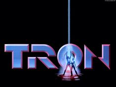 Tron / Walt Disney Productions presents ; directed by Steven Lisberger ; screenplay by Steven Lisberger ; produced by Donald Kushner Edición coleccionistas [Madrid] : Disney DVD, DL 2001 Tron Legacy, Tron Original, Walt Disney, The Thing 1982, Toys Logo, Digital Film, Typography Love, Lettering, Disney Music