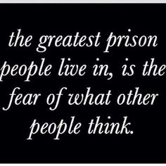 The greatest prison...