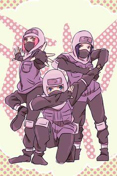 Sakura, Naruto, and Sasuke dressed as Kakashi sensei Naruto Team 7, Naruto Kakashi, Naruto Fan Art, Naruto Anime, Naruto Comic, Naruto Cute, Anime Manga, Naruto Uzumaki Shippuden, Naruto Mignon