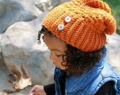 Cute ribbed slouchy hat that is perfect for ANY season and will have your little one looking chic