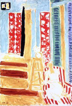 Sun's Ray / Henri Matisse - 1942