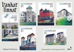 Finland The first stamps of 2014 celebrate ancient castles - Itella Corporation