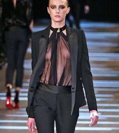 ALEXANDRE VAUTHIER $2,615 black wool crepe silk satin lapel blazer jacket 40 NEW #AlexandreVauthier #Blazer #runway #vauthier #suitjacket