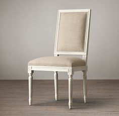 "Side Chair: seat, 20""H; 20""W x 22""D x 40""H overall; 26 lbs. Armchair: seat, 20""H; arm, 29""H; 23""W x 22""D x 40""H"