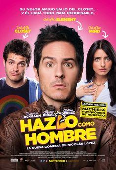 """Aislinn Derbez le dice a Mauricio Ochmann """"Hazlo Como Hombre"""", como lo escuchaste y es que ese es el nombre de la nueva película en ..."""