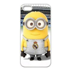 Custom Minion Real Madrid CF Design 3D Printed Protective Case for iPhone 5S USAHarry-00318 by USA Harry, http://www.amazon.com/dp/B00GAY6JM8/ref=cm_sw_r_pi_dp_sRHGsb06595H6