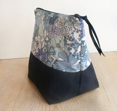 Extra Large Liberty of London Tana Lawn Zipper Pouch. Click for more information. $22.00