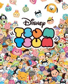 Disney Tsum Tsum - Pile Up - Official Mini Poster. Official Merchandise. FREE SHIPPING