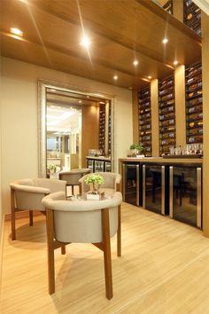 adega / winery / vinho / wine / marcenaria / apartamento decorado / home decor / bohrer arquitetura / interior design