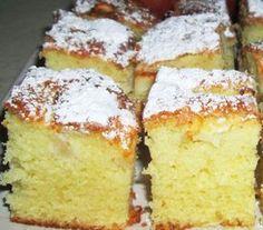 No Cook Desserts, Apple Desserts, Sweets Recipes, Baking Recipes, Delicious Desserts, Cake Recipes, Romanian Desserts, Easy Apple Cake, Danish Food