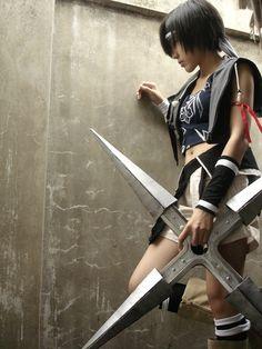 Yuffie, Final Fantasy VII: Advent Children cosplay.