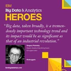 Congrats to Greg Piatetsky-Shapiro #BigData & #Analytics hero!