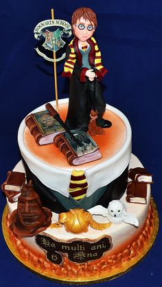harry potter wedding cake awesome cakes pinterest. Black Bedroom Furniture Sets. Home Design Ideas