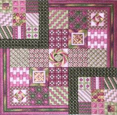 Roseto, Needle Delights Originals Counted Needlepoint Designs from Kathy Rees