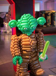Star Wars Yoda Balloon Model