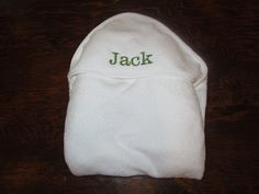 Hooded Bath Towel - Embroidered / Personalized