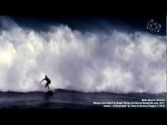 SURFERS take on HUGE WAVES at BELLS BEACH, VIC.  July 9th 2011. MUSIC - 'How to Destroy Angels'