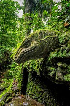 Stone Quardian - Sacred Monkey Forest - Ubud - Bali