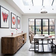 Kitchen makeover with grey Plain English units and concrete floors Concrete Kitchen Floor, Concrete Floors, Kitchen Flooring, Plain English Kitchen, English Kitchens, Home Decor Kitchen, Kitchen Design, Window Cleaning Solutions, Kitchen New York