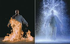 Bill Viola (1951 New York - USA) is internationally recognized as one of today's leading artists. He has been instrumental in the establishment of video as a vital form of contemporary art, and in so doing has helped to greatly expand its scope in terms of technology, content, and historical reach. For 40 years he has created videotapes, architectural video installations, sound environments, electronic music performances.