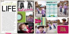 Lindsay Teague Moreno: 2012 Project Life Album