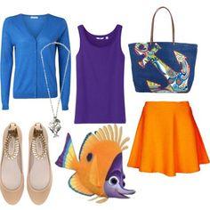 dress like tad finding nemo