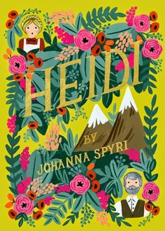 The books have been designed by Anna Bond of The Rifle Paper Co. in her typically fabulous way. There are currently four titles in the collection Heidi, Anne of Green Gables, Little Women and A Little Princess.