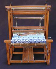 Weaving loom by Oldham Studios