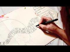 Art Journaling Lettering with Valerie Sjodin