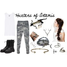 """Hunters of Artemis"" by amr3always on Polyvore"