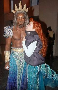 Sierra and Norm, The Little Mermaid Broadway