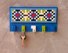 LEGO® key hanger   #1 - home decor