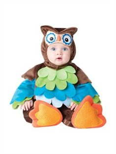 The What A Hoot Owl Costume Infant Toddler is the best 2019 Halloween costume for you to get! Everyone will love this Baby/Toddler costume that you picked up from Wholesale Halloween Costumes! Baby Owl Costumes, Cute Baby Halloween Costumes, Fete Halloween, Animal Costumes, Toddler Costumes, Cute Costumes, First Halloween, Halloween Kids, Costume Ideas