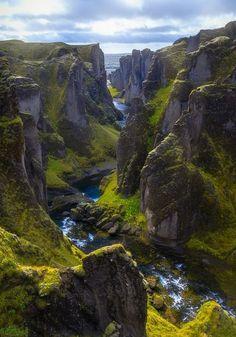 Fjaorargljufur, Iceland